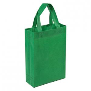 Bolsa Ecologica Notex 1Color Verde 30cm x 24cm x 15cm fuelle