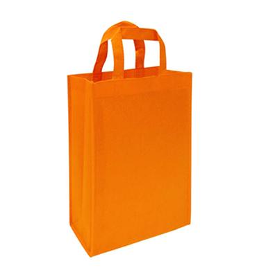 bolsa notex ecologico naranja 30 x 24 x 15 fuelle